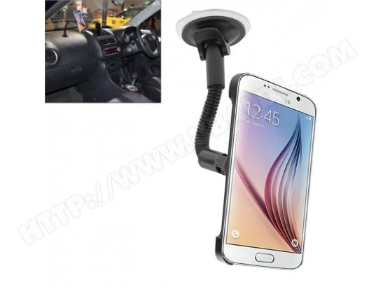 Holder Voiture pour le bord de Samsung Galaxy S6 / S6 Support de de tasse d'aspiration, WEWOO MA-80CA504HOLD-5PG4E