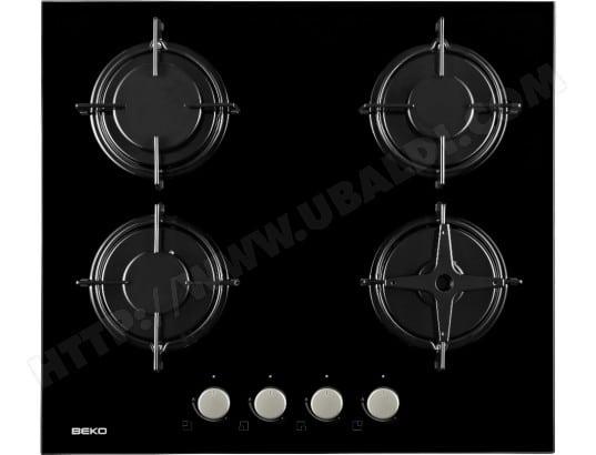 design de qualité 56cad 84161 BEKO HISG64220S - Plaque gaz Pas Cher