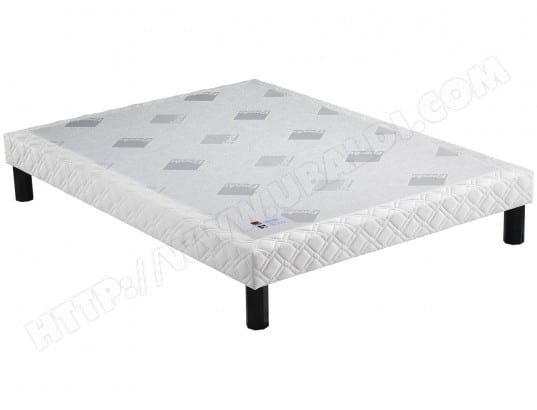 Sommier 160 x 200 EPEDA Confort ferme 160x200 16 cm coutil 2000