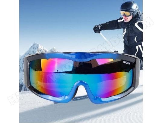 2dceb9c2996f2 Masque bleu et noir unisexe monocouche anti-buée anti-poussière protection  anti-UV