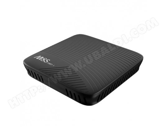 Mini PC Android Box TV 4K HD Smart 7.1 OS Amlogic S912 Octa Core 64 bits ARM Cortex-A53 TV avec télécommande IR, RAM: 3 Go, ROM: 32 Go, Support Bluetooth V4.1 + HS et WiFi carte TF maximum 32 Go WEWOO MA-80CA45_MINI-FZ39D