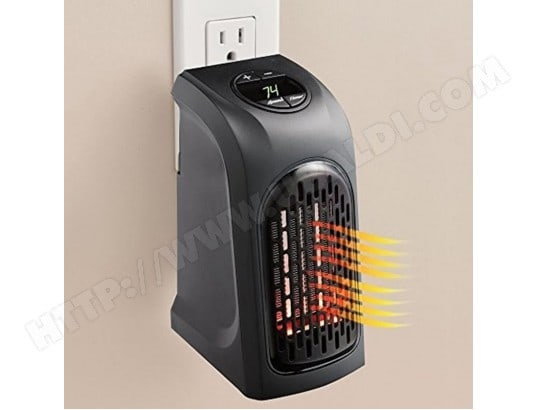 Chauffage électrique pour bureau maison ac 120 v us plug 400 w