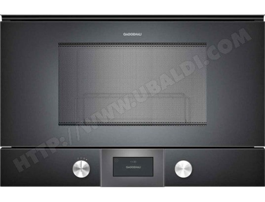Gaggenau bmp224 100 pas cher micro ondes grill - Micro onde grill encastrable ...