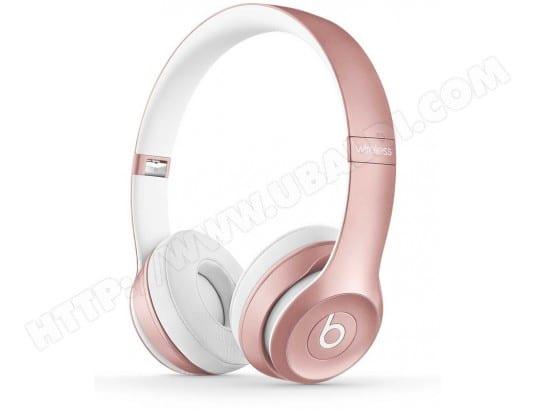 beats solo2 wireless headphones rose gold casque sans fil livraison gratuite