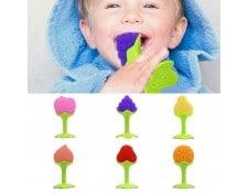 43cad4a7fa95 WEWOO MA-80CA319JOUE-PYKQR Jouet de dentition de Silicone de forme de  fruits stéréoscopiques de bébé de Balcherlam, livraison aléatoire de couleur