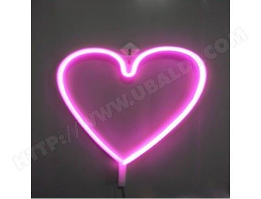 Décoration Maison Strip En Rose De Led Lampe Forme Coeur 6bgI7yYfvm