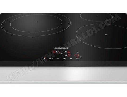 design de qualité f0de2 a852c SIEMENS EH651BJB1E - Plaque induction Pas Cher