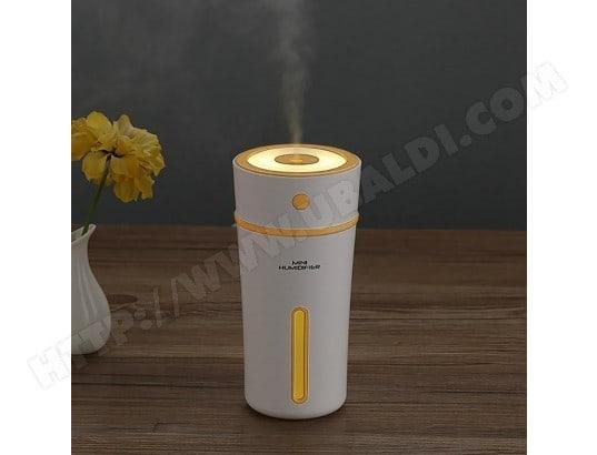 Humidificateur d air jaune pour maison bureau voiture ml