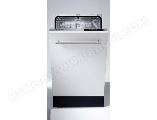 sharp qws32i471x lave vaisselle tout integrable 45 cm. Black Bedroom Furniture Sets. Home Design Ideas