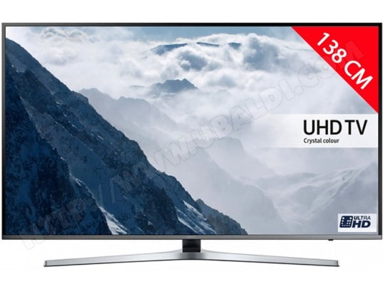 samsung ue55ku6470 tv led 4k 138 cm livraison gratuite. Black Bedroom Furniture Sets. Home Design Ideas