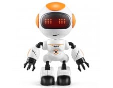 Nouveau robot avec jouet tactile LED à induction, queue: 11,5 * 7,5 * 5 cm orange WEWOO MA-80CA310NOUV-HISKE