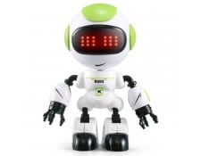 Robot-induction LED tactile jouet roman, queue: 11,5 * 7,5 * 5 cm vert WEWOO MA-80CA310ROBO-PC6LV