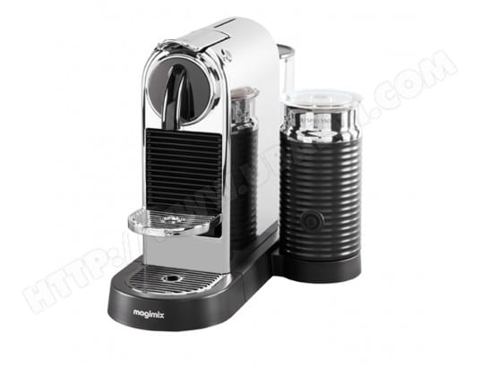Nespresso MAGIMIX 11318 Citiz milk chrome M195