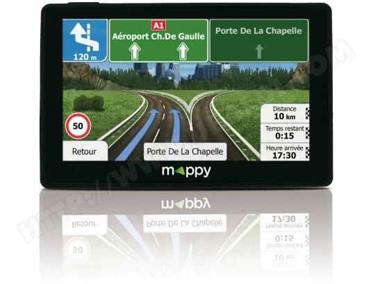 GPS Camping-Car - Caravane MAPPY Ulti X585 CAMP