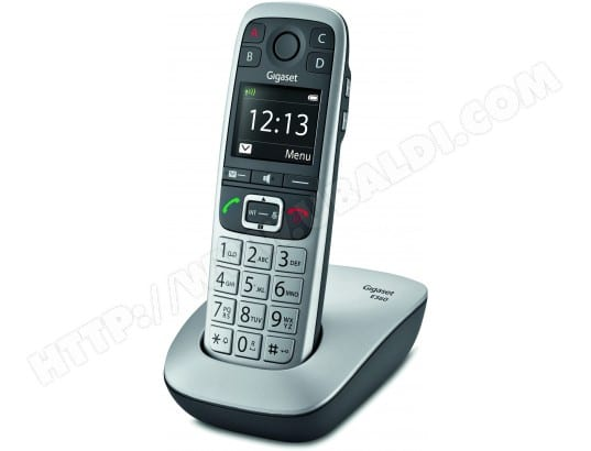 Téléphone Sans Fil Siemens Gigaset E560 Silver Pas Cher Ubaldicom