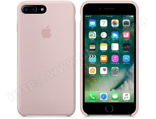 coque iphone xr apple rose pale