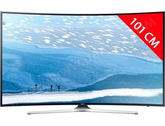 samsung ue40ku6100 tv led 4k 101 cm livraison gratuite