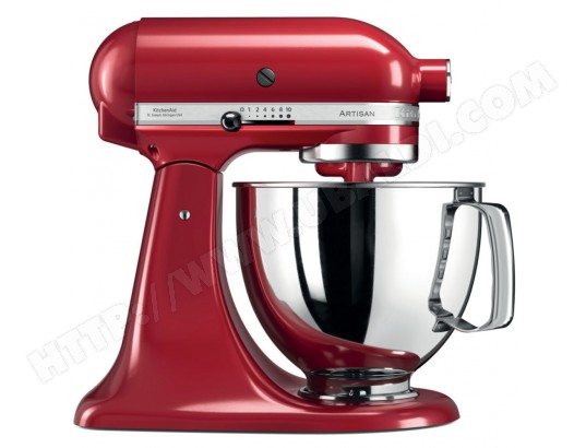 Robot culinaire KITCHENAID Artisan 5KSM125EER Rouge Empire
