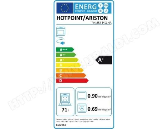 Hotpoint Ariston Fi4854pixha Pas Cher Four Encastrable Pyrolyse
