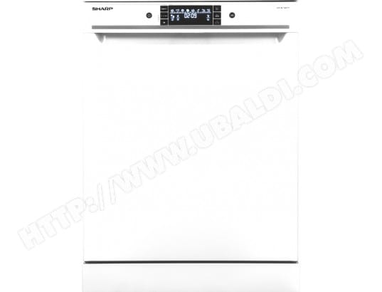 sharp qwgt32f452w lave vaisselle 60 cm sharp livraison gratuite. Black Bedroom Furniture Sets. Home Design Ideas
