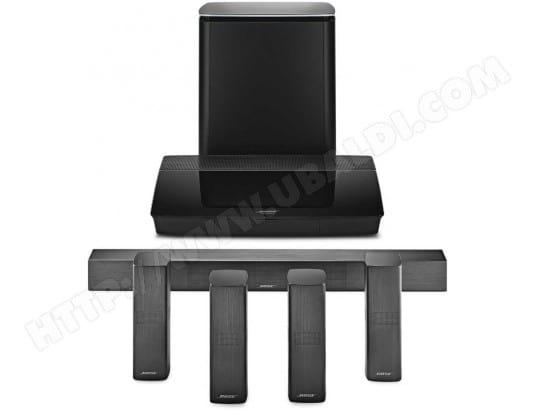 Ensemble home cinéma BOSE Lifestyle 650 System Black