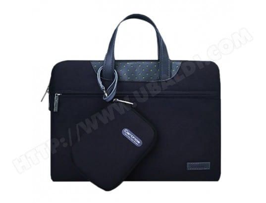 Sacoche pour ordinateur portable noir MacBook, Lenovo et autres ordinateurs portables, Taille interne: 28.0x17.0x3.0cm 12 pouces Business Series Exquisite Zipper Handheld Laptop Bag avec groupe d'alimentation indépendant WEWOO MA-80CA52_SACO-05P19