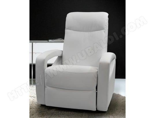Cher Cuir Ub Manuel Relaxation Fauteuil Paris Design Pas Blanc SMzpUV