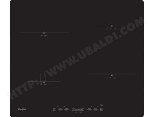 nouveau style 9e3bf 6548e WHIRLPOOL ACM823NE - Plaque induction Pas Cher