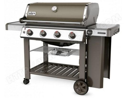 Barbecue Weber à gaz Genesis 2 E 410 GBS Smoke Grey
