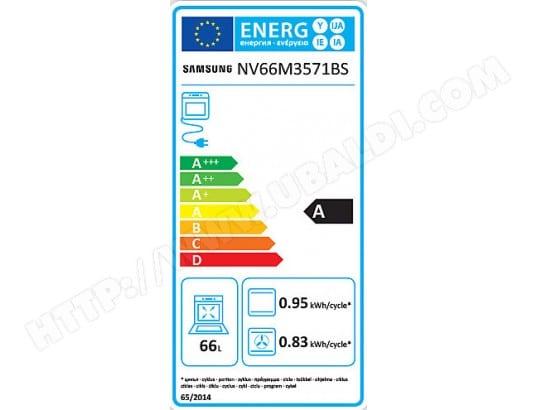 Samsung Nv66m3571bsef Pas Cher Four Encastrable Pyrolyse Samsung Livraison Gratuite