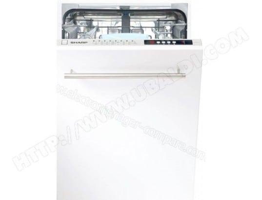 Lave vaisselle tout integrable Lave vaisselle encastrable 60 cm Sharp QWD21I492X Classe /énerg/étique A++ D/épart diff/ér/é