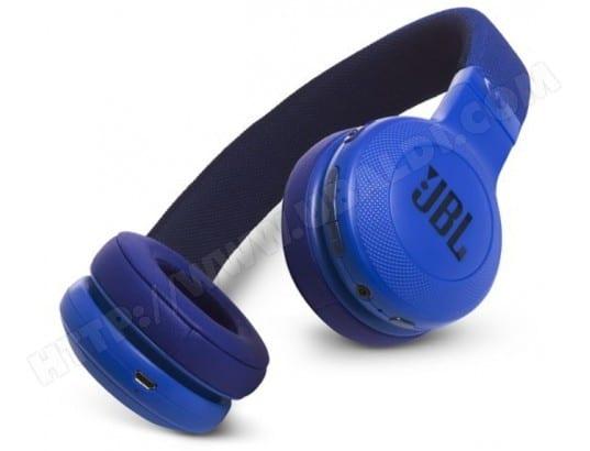 casque jbl e45 bluetooth bleu