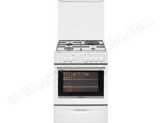 taille 40 af459 6081c BRANDT BCM6650W Pas Cher - Cuisiniere mixte BRANDT ...
