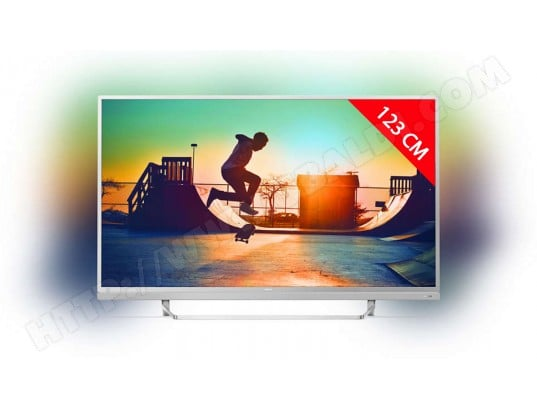 philips 49pus6482 tv led 4k 123 cm livraison gratuite. Black Bedroom Furniture Sets. Home Design Ideas