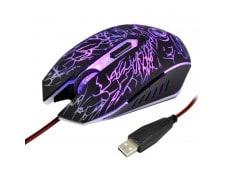Souris noir pour Ordinateur PC Portable USB 6 Boutons 3600 DPI Filaire  Optique Gaming Mouse WEWOO be7941e03728