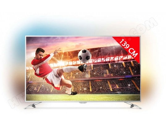 TV LED 4K 139 cm PHILIPS 55PUS7272