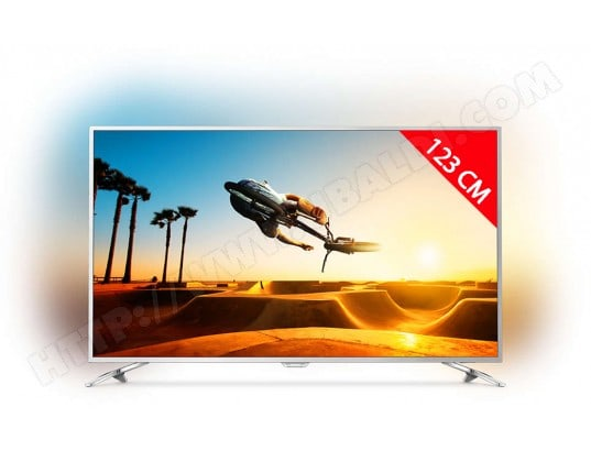 TV LED 4K 123 cm PHILIPS 49PUS7272