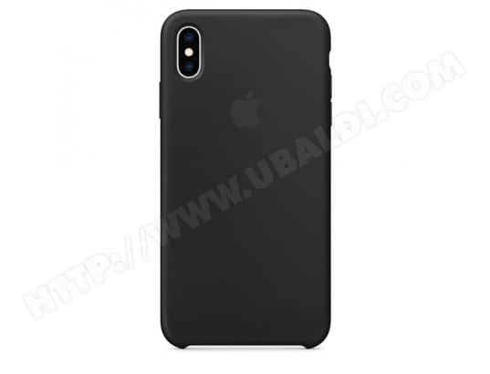 Coque iPhone APPLE iPhone XS Max Silicone Case - Black