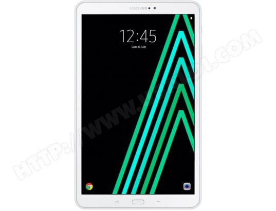 Tablette tactile SAMSUNG Galaxy Tab A 10.1'' Blanc