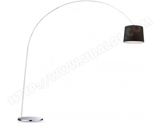 Lampadaire salon IDEAL LUX Dorsale PT1 noir