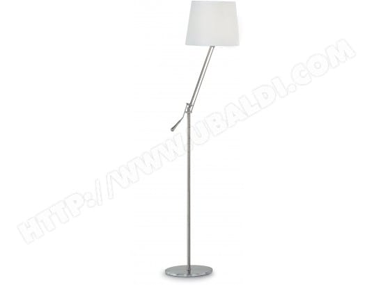 Lampadaire salon IDEAL LUX Régol PT1 blanc