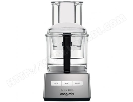 Robot culinaire MAGIMIX 18715F CS 5200 XL premium chrome brillant