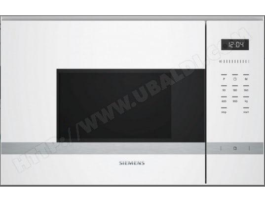 siemens bf555lmw0 pas cher micro ondes encastrable. Black Bedroom Furniture Sets. Home Design Ideas