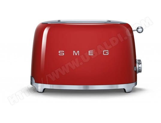 Grille pain SMEG TSF01RDEU 2 tranches Rouge
