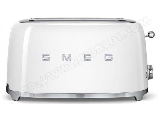 smeg tsf02wheu 4 tranches blanc pas cher grille pain livraison gratuite. Black Bedroom Furniture Sets. Home Design Ideas