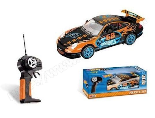 Hot Véhicule Mondo 911 Commandé Radio 1 Gt3 Motors Wheels Porsche 14 5j4q3ARL