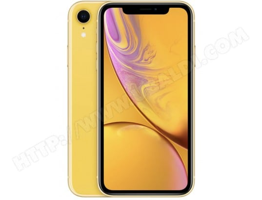 iPhone APPLE iPhone XR 64Go Yellow