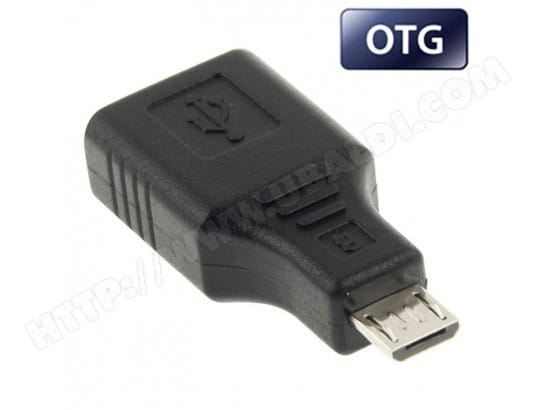 Adaptateur Micro USB / USB PC tablette smartphone avec fonction OTG YONIS MA-80CA40_ADAP-NVKMG