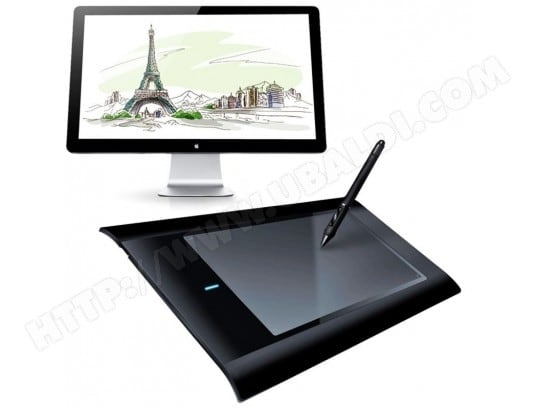 Tablette Graphique 8x5 Pouces Compatible Windows Mac Palette Dessin 3D YONIS MA-80CA419TABL-M4XE3