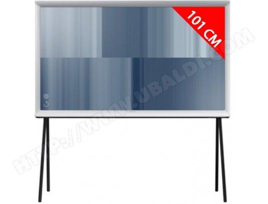 samsung serif ue40ls001auxzf blanc tv led 4k 101 cm livraison gratuite